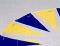 背泳用三角旗