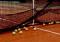 硬式テニス用集球ネット