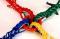 十字綱引ロープ