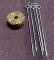鉄杭トラロープセット